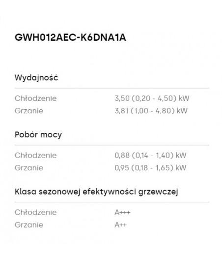 KLIMATYZATOR ŚCIENNY G-TECH...